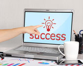 Success symbol — Stock Photo