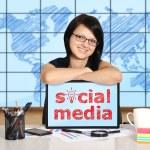 Social media concept — Stock Photo #29496927