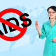 No aids concept — Stock Photo