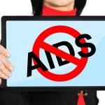 Постер, плакат: Stop aids concept