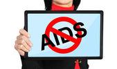 Stop aids concept — Stock Photo