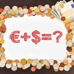 Business formula and money — Stock Photo #31197715