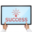 Success consept — Stock Photo