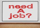 Plasma with need a job — Stock Photo