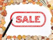 Nich je prodej — Stock fotografie