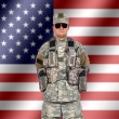 Us soldier — Foto Stock