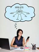 Seo schéma — Stock fotografie