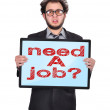Stock Photo: Need job