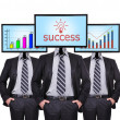 Chart and success — Stockfoto