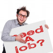 Need job — Foto Stock #35913039