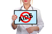 No aids — Foto Stock