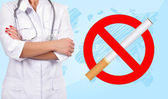No smoking symbol — Stock Photo