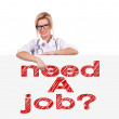 Need job — Stock Photo #38197863