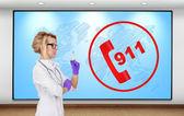 911 concept — Stock Photo