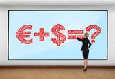 Business formula — Stock Photo