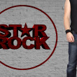 Rock star men — Stock Photo #38652107