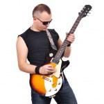 Постер, плакат: Rock musician