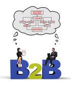 B2b の概念 — ストック写真