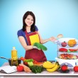Housewife — Stock Photo #41253625