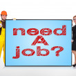 Need job — Foto de stock #41520129