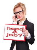 Bisogno di un lavoro — Foto Stock