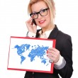 World map — Stock Photo #47212343