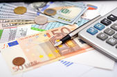 Finansiell översikt — Stockfoto