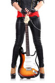 Chitarra elettrica — Foto Stock