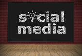 Sociale media — Stockfoto