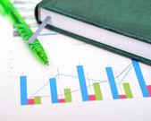 Financial statistics — Stock Photo