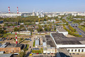 Industrial area of the city — Stockfoto