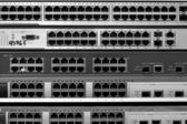 Ethernet network switch type — Stock Photo