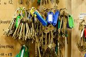 串钥匙 — 图库照片