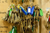Massa nycklar — Stockfoto