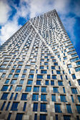 Modern high-rise new building Multifunctional Complex - House on Mosfilmovskaya , Moscow, Russia — Stock Photo
