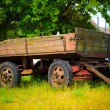 Stock Photo: Rustic wagon