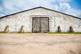 Stone warehouse — Stock Photo