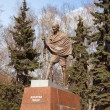 Mahatma Gandhi. The monument in Moscow — Stock Photo