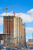 Construction of residential house — Stock Photo