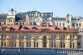 Historical center of Moscow. Rooftops. — Stock Photo