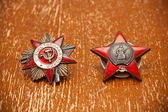 Order of the Red Star of the Great Patriotic War — Stockfoto