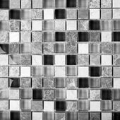 Monochrome Background of Mosaic Stone. Mosaic surface of natural stones — Stock Photo