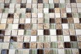 Background of Mosaic Stone. Mosaic surface of natural stones — Stock Photo