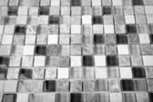 Monochrome Background of Mosaic Stone. Mosaic surface of natural stones — Stock Photo