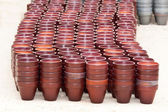 Flower pots — Stock Photo
