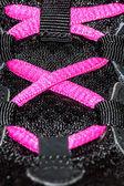 Scarpa lacci — Foto Stock