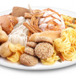 Bakery products on a plate. - Stock Photo