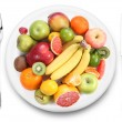 Royalty-Free Stock Photo: Fruit on a plate.