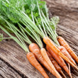Carrots with leaves — Stock Photo #12179140