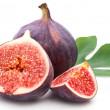 Figs with leaves. — Stock Photo #13739693